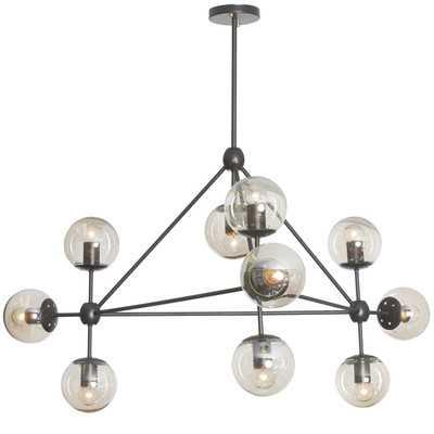 Frederick 10-Light Sputnik Modern Linear Chandelier - AllModern