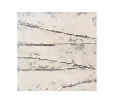 """Texture and Shadow Unframed Wrapped Canvas, 42"""" x 42"""" - Pottery Barn"""