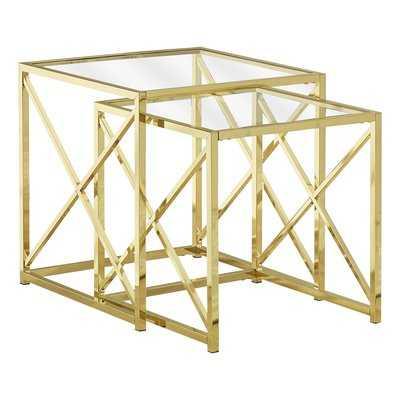 Geier 2 Piece Nesting Tables - Wayfair