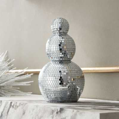 Disco Ball Snowman - CB2