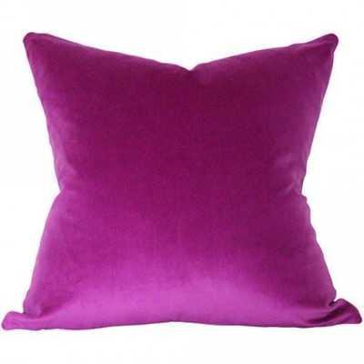 Orchid Velvet - 20x20 pillow cover - Arianna Belle