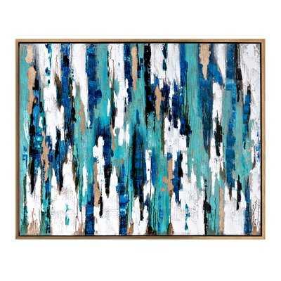 'Nordiak' Framed Oil Painting Print on Canvas - Wayfair