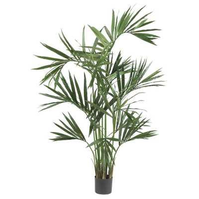 6 ft. Green Kentia Palm Silk Tree - Home Depot