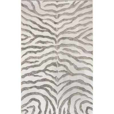 Dodgson Hand-Tufted Gray/Ivory Area Rug - Wayfair