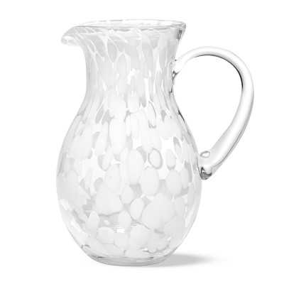 Aerin White Confetti Pitcher - Williams Sonoma