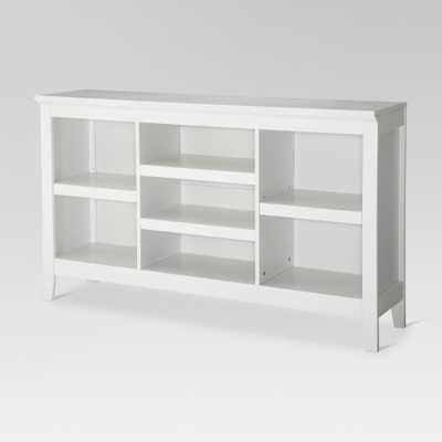 32 Carson Horizontal Bookcase with Adjustable Shelves White - Threshold - Target