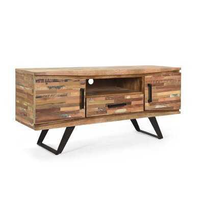Abigail Handcrafted Boho Reclaimed Wood Tv Stand - Wayfair