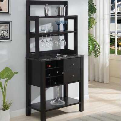 Wes Bar with Wine Storage - Wayfair
