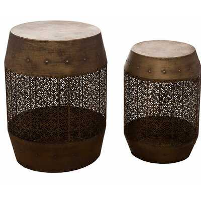 Scurlock 2 Piece End Table Set - Wayfair