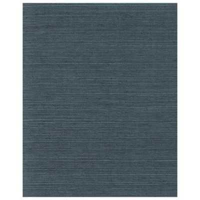 72 sq. ft. Plain Grass Wallpaper, Blue - Home Depot