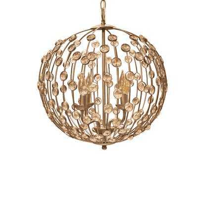 Weibel 4-Light Globe Chandelier - Wayfair