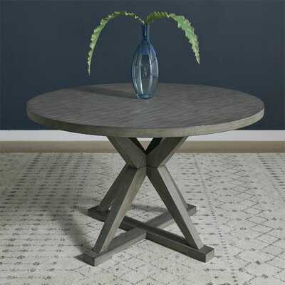 Altheimer Round Pedestal Dining Table - Wayfair