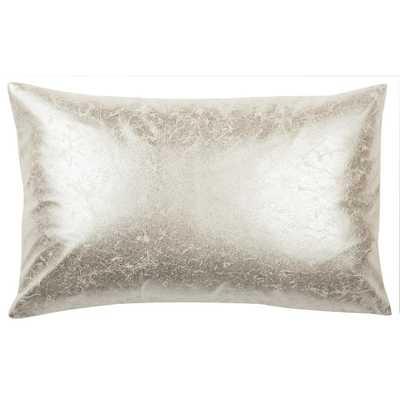 Jaxon Crush Pillow, Frost - Home Depot