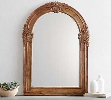 Mendosa Arch Wood Mirror - Pottery Barn