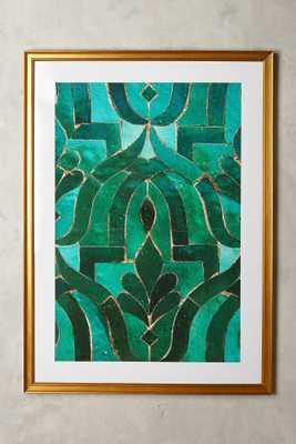 Moroccan Tile Wall Art - Anthropologie