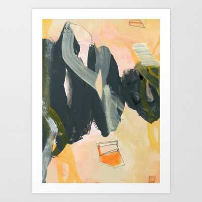 abstract painting IV Art Print - X-Large by Patternization - Society6