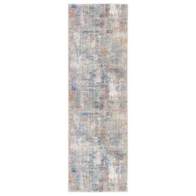 """Edgewood Abstract Multicolor Runner Rug (2'6""""X8') - Collective Weavers"""