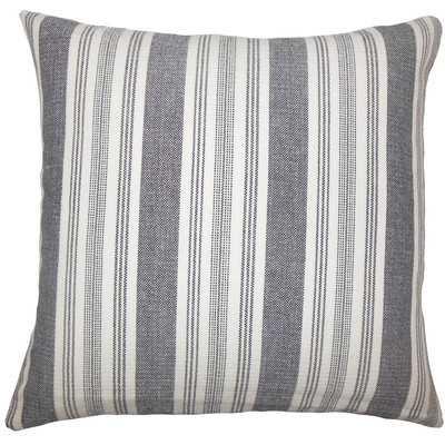 Reiki Striped Cotton Throw Pillow - Wayfair