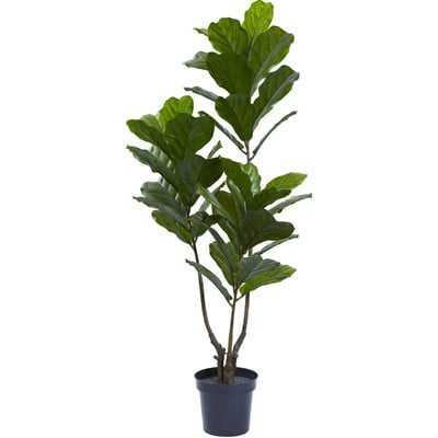 Fiddle Leaf Tree in Pot - Wayfair