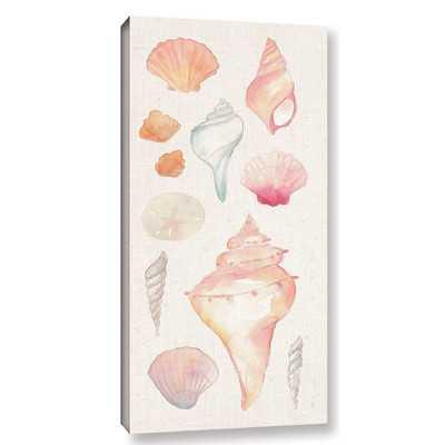 'Sea Gems II' Painting Print on Wrapped Canvas - Wayfair