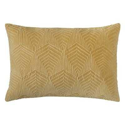 Sloan Velvet Lumbar Pillow - Wayfair