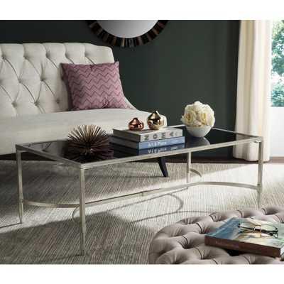 Antwan Silver Coffee Table - Home Depot