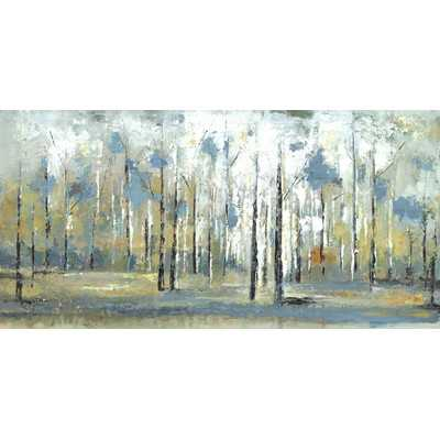 'Sky Branches' by Irina K. Painting Print on Wrapped Canvas - Wayfair