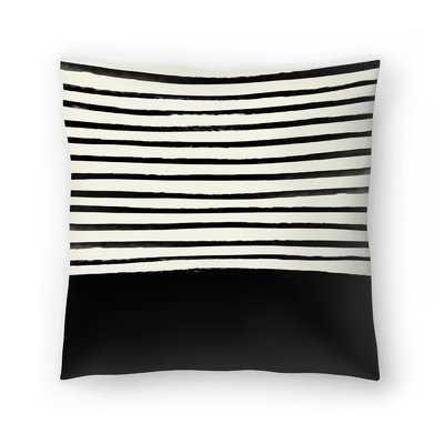 Black Throw Pillow - Wayfair