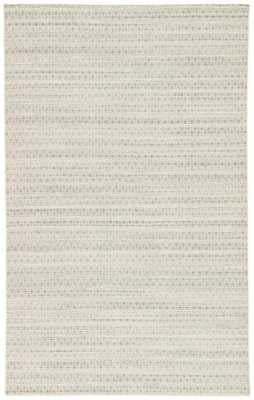 Prism Handmade Trellis Blue/ Cream Area Rug (9' X 12') - Collective Weavers