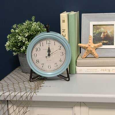 Table Clock - Blue - Wayfair