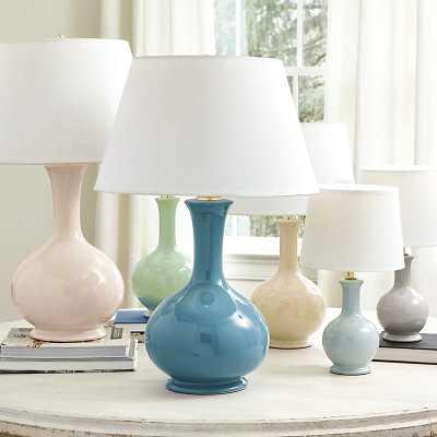Ballard Designs Suzanne Kasler Gourd Lamp Blue Jay Large - Ballard Designs