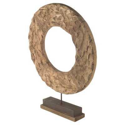 Wood Sculpture - Wayfair