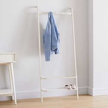 Bamboo Leaning Garment Rack - West Elm