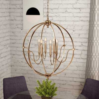 Wimborne 6-Light Globe Chandelier - Wayfair