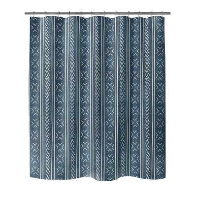 Adeline Geometric Single Shower Curtain - AllModern