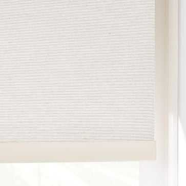 Woven Cordless Roller Shades, Whisper White, 72x66 - West Elm
