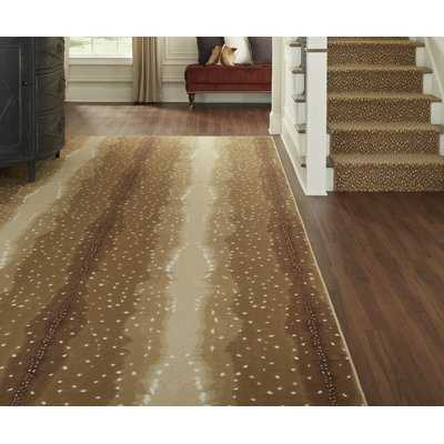 Booker Chital Brown Area Rug - Wayfair