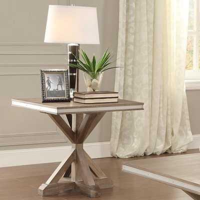 Shoshoni End Table - Wayfair