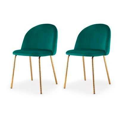 Deeter Upholstered Dining Chair - Wayfair