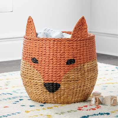 Fox Floor Bin - Crate and Barrel
