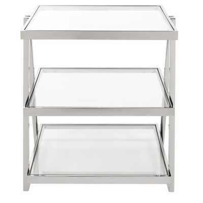 End Table Silver - Safavieh - Target