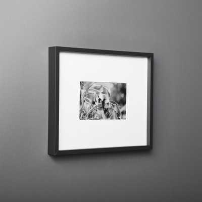 Gallery Black Frame with White Mat 4x6 - CB2