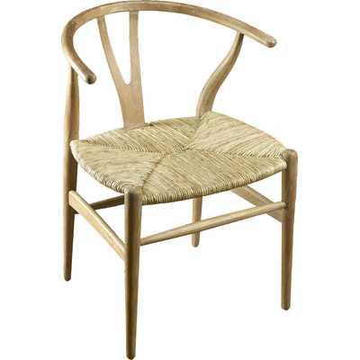Rattan Barrel Chair - Wayfair