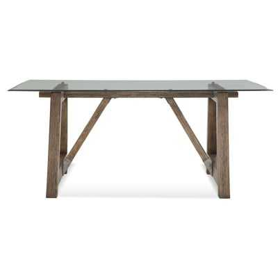 Ouareau Adjustable Leg Dining Table - Wayfair