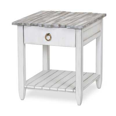 Decastro End Table with Storage - Wayfair