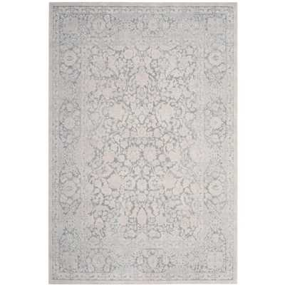 Reflection Light Gray/Cream (Light Gray/Ivory) 4 ft. x 6 ft. Area Rug - Home Depot