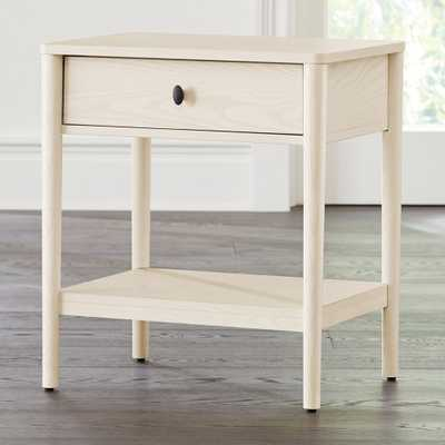 Gia Cream Ash Nightstand - Crate and Barrel