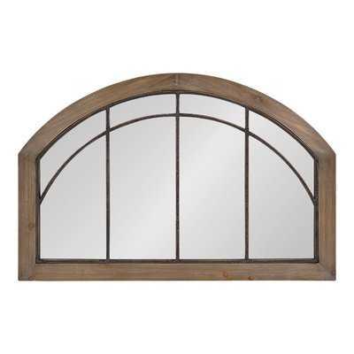 Treadwell Traditional Wood Arch Accent Mirror - Birch Lane