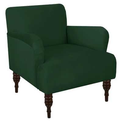 Accent Chair Velvet Emerald - Skyline Furniture, Green - Target