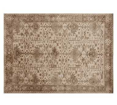 Channing Persian Rug, 8 x 10', Neutral - Pottery Barn